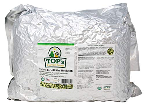 TOP's Parrot Food Pellets 25 LB - Pellet Bag Small
