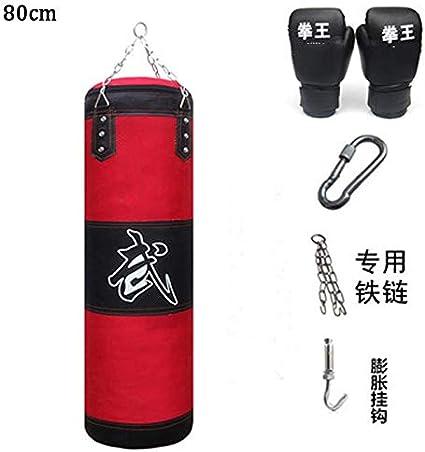 Heavy Boxing Punching Bag Training Kicking MMA Workout 60//80//100//120cm