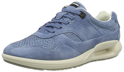 ECCO Women's Women's Cs16 Fashion Sneaker, Retro Blue, 40 EU/9-9.5 M US
