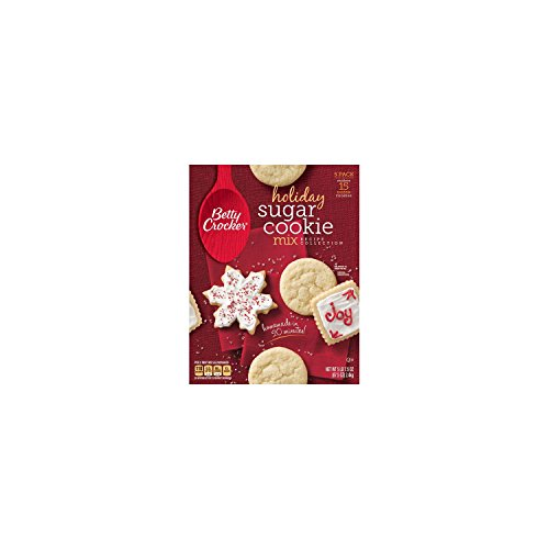 Betty Crocker Holiday Sugar Cookies Mix Kit Recipe Collection Makes 15 Dozen Cookies Sugar Cookie Mix