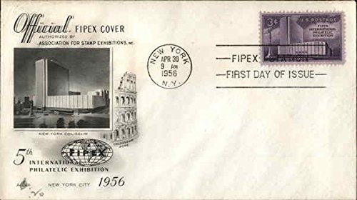5th International Philatelic Exhibition 1956 Original First Day Cover