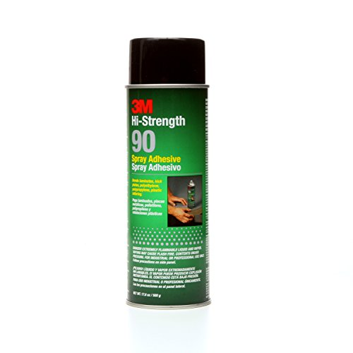 3M Spray Adhesive, 17.6-Ounce (Low Contact Cement)