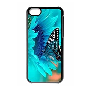 Butterfly Brand New Cover Case for Iphone 5C,diy case cover ygtg523391