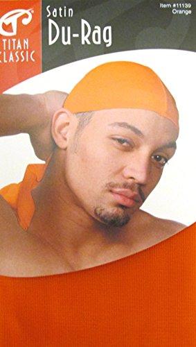 Titan Classic Satin Du-Rag Red #11139 Orange