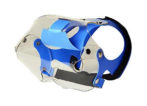 Optivizor Short Snout Dog Eyes & Face Protector, Small-Medium 22-55 lbs, Head Mesurement 6-7 inches by Optivizor