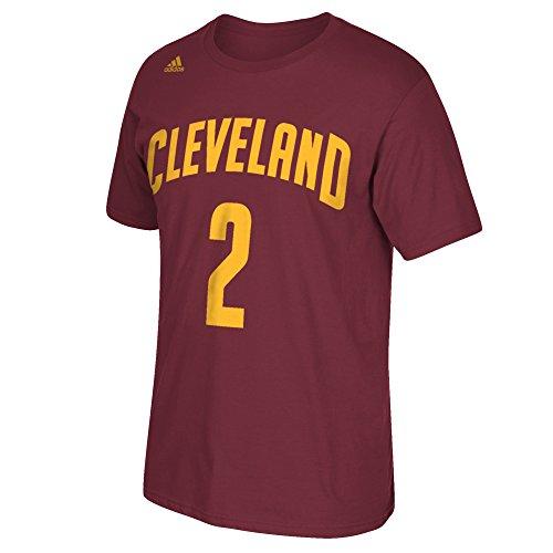 NBA Cleveland Cavaliers Kyrie Irving #2 Men's 7 Series Name & Number Short Sleeve Tee, X-Large, Maroon ()