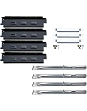 Direct store Parts Kit DG259 Replacement Charbroil Grill 463436213463436215; Thermos 466360113 Repair Kit (SS Burner + SS Carry-Over Tubes + Porcelain Steel Heat Plate)