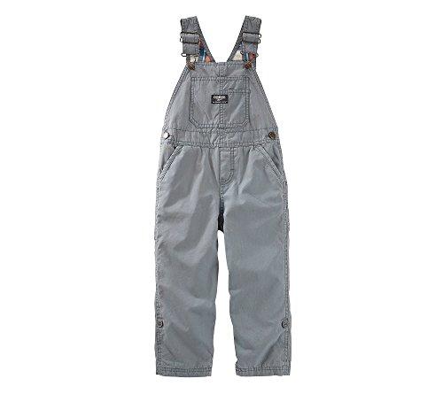 OshKosh B'gosh Baby Boys Overall 11830710, Gray, 24 Months Baby