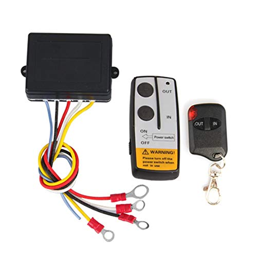 Wireless Winch Remote Control Kit for Truck Jeep ATV SUV 12V Switch Handset ()