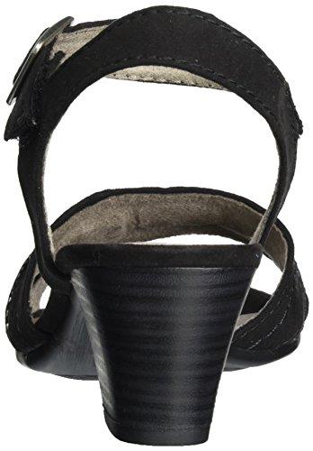 Softline Damen 28361 Knöchelriemchen Schwarz (Black 001)