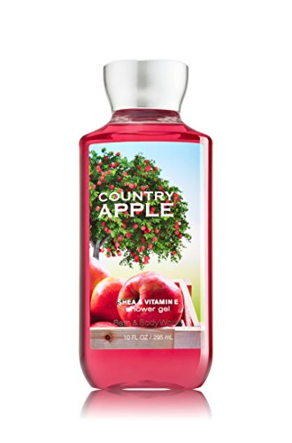(Bath and Body Works Country Apple Shower Gel 10 Ounce Bottle)
