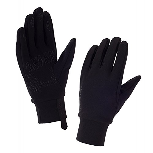 SEALSKINZ Unisex Water Repellent All Weather Glove, Black, One Size
