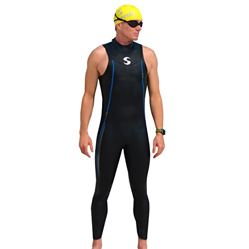 Synergy Endorphin Men's Sleeveless Triathlon Wetsuit - Sleeveless Wetsuit Triathlon