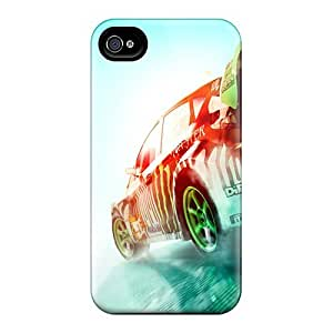 Ultra Slim Fit Hard Cynthaskey Case Cover Specially Made For Iphone 5/5s- Dirt 3 Rally Race Game