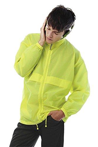 Showerproof Foldaway C B and Jacket Collection Orange by Windbreaker rrIUd