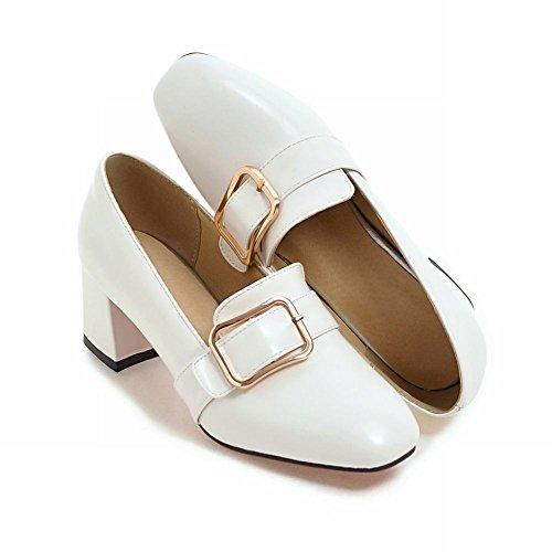 Charm Sandalo Vintage Da Donna Stile Vintage Con Punta Squadrata E Cinturino Alla Caviglia
