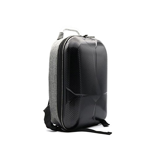 Dacawin Hard Shell Carrying Backpack bag Case Waterproof Anti-Shock For DJI Mavic Pro (Black)