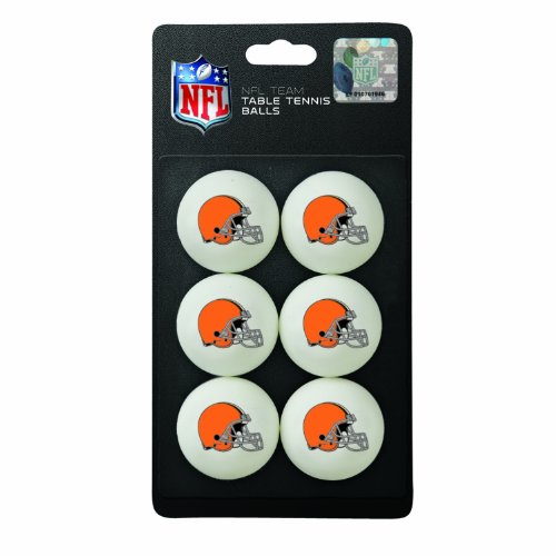 Franklin Sports NFL Cleveland Browns Table Tennis Balls