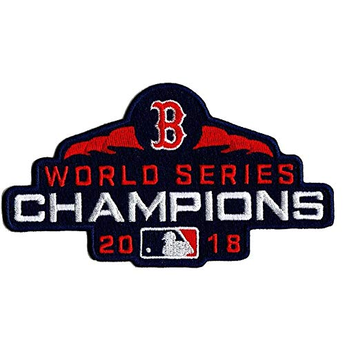 Sox 2018 MLB World Series Champions Patch ()