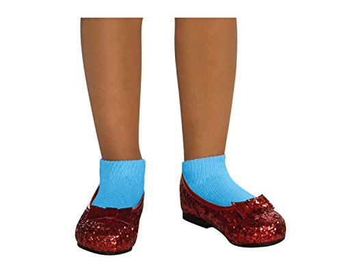 Wizard of Oz Child's Deluxe Dorothy Ruby Red Slippers, Medium -