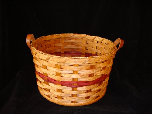 Amish Handmade Paper Plate Basket, Perfect Accent to Any Picnic or Gathering. Fits Paper Plates Perfectly
