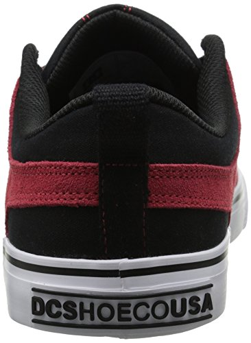 Dc Mens Lynx Lace-up Fashion Sneaker Rosso / Nero / Bianco