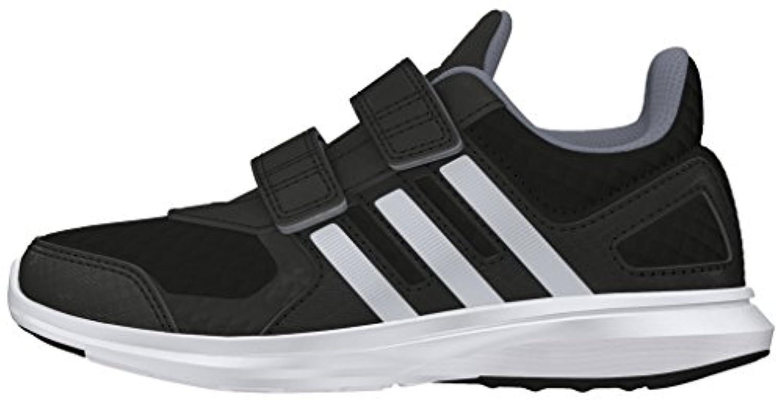 adidas Unisex Kids' Hyperfast 2.0 CF K Running Shoes, Pink-Pink (Pink/Blau/Weiß), 1