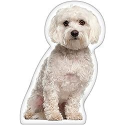 iLeesh Maltese Shaped Pillow