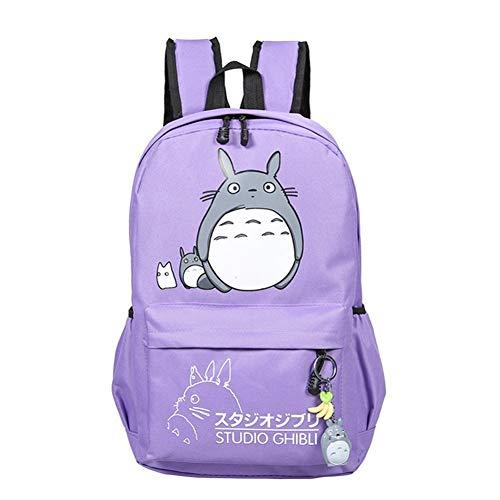 Teenager Cartoon My Neighbor Totoro Backpack Cartoon Anime Travel Daypack Rucksack