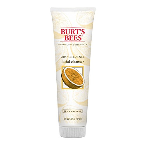Burts Bees Orange Essence Facial Cleanser, Sulfate-Free Face Wash, 4.3 Ounces