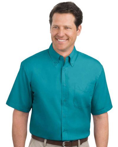 Port Authority Men's Short Sleeve Easy Care Dress Shirt