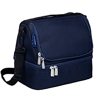 Wildkin Two Compartment Lunch Bag, Whale Blue (B0084DZ582) | Amazon price tracker / tracking, Amazon price history charts, Amazon price watches, Amazon price drop alerts