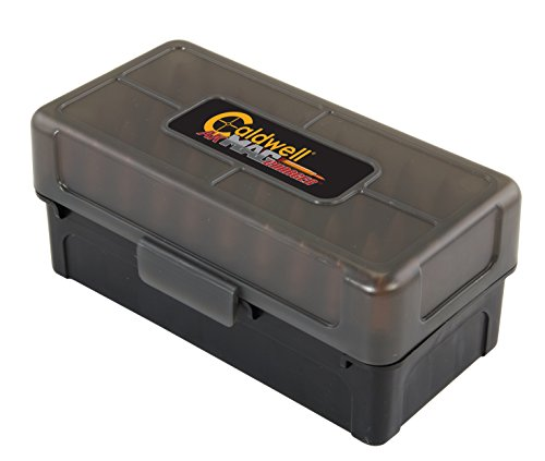 Caldwell 7.62x39 Ammo Box with Removable Lid and Strong Construction for Outdoor, Range, Shooting, Competition and Reloading, 5 Pack