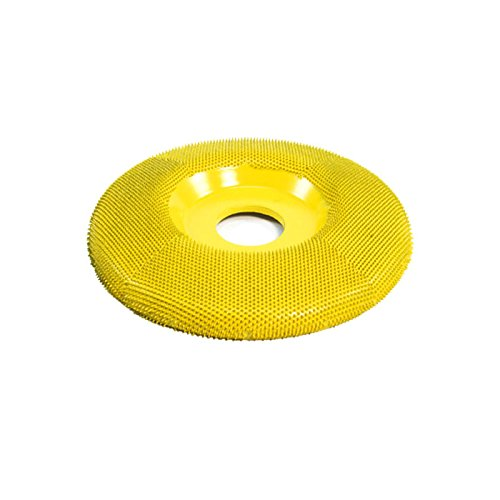 "Saburr-Tooth Power Carving Tool SD450H 4"" Disc Wheel W// Hole Flat Face 5//8 Bore"