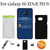 Admin Login Custom Galaxy S6 EDGE PLUS Cases-Black-Plastic,Bundle 2in1 Comes with Custom Case/Universal Stylus Pen by innosub