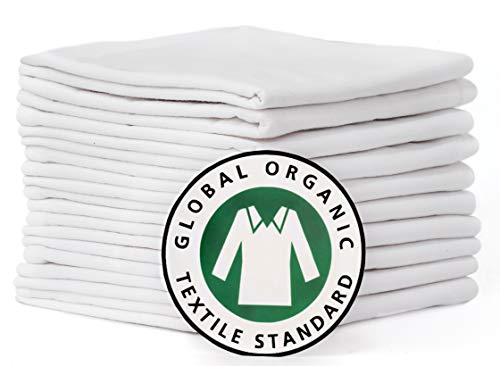 Used, Flour Sack Dish Towels, Certified ORGANIC cotton, Flour for sale  Delivered anywhere in USA