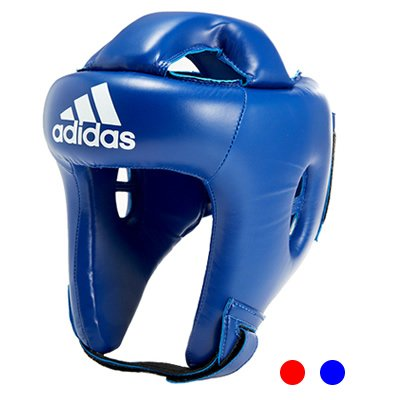 adidas Rookie Boxing Headgear (Blue, L)