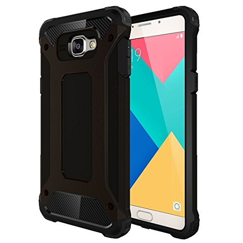 For cellphone Cases, For Samsung Galaxy A9 / A900 Tough Armor TPU + PC Combination Case ( Color : Black )
