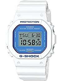 G-Shock DW5600WB-7 WHITE AND BLUE SERIES Watch Square...