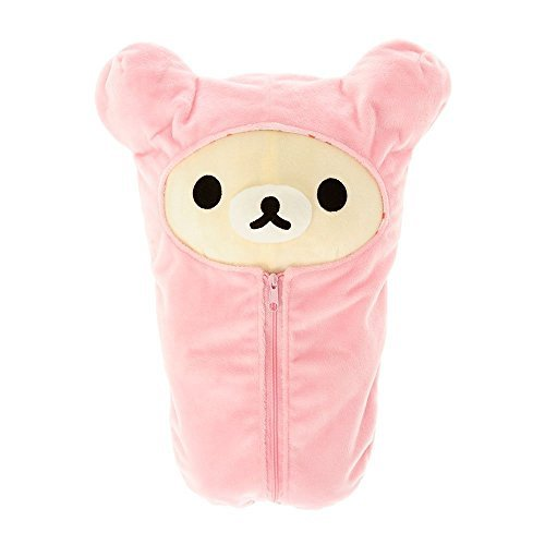 Korilakkuma in Pink Sleeping Bag Plush -