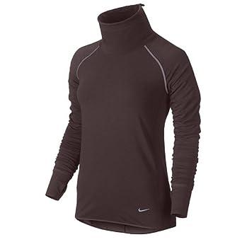 90d5ae473e03 Nike Women s Dri-fit Sprint Fleece Pullover - -  Amazon.co.uk  Clothing