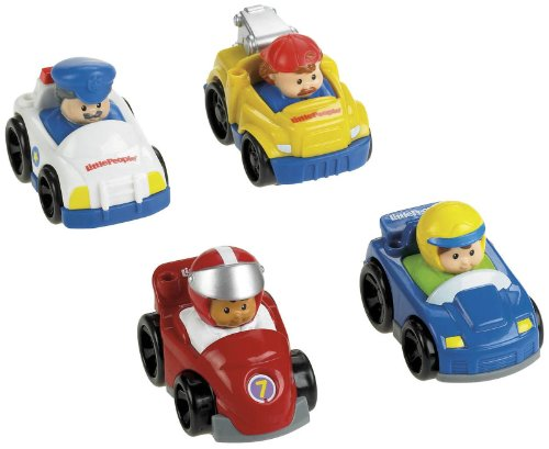 Fisher-Price Little People Wheelies All About Racing - Racers Race Rig