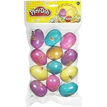 12 Play-doh Easter Eggs - Includes 1 Golden Easter Egg