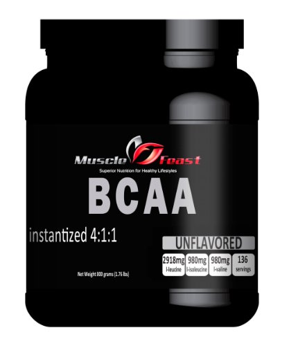 Instantized sans saveur BCAA 4: 1: 1 800 grammes