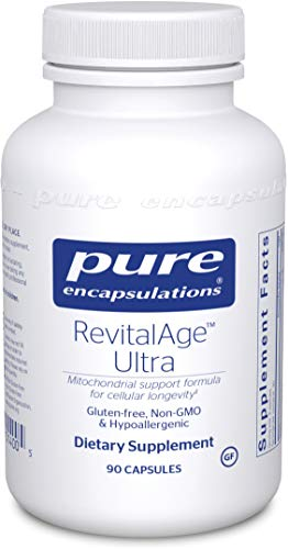 Pure Encapsulations – RevitalAge Ultra – Hypoallergenic Supplement for Enhanced Cardiovascular, Metabolic and Neurocognitive Support* – 90 Capsules