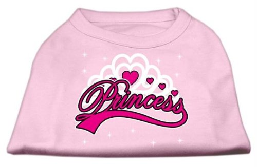 Mirage Pet Products 10-Inch I'm a Princess Screen Print Shirts for Pets, Small, Pink