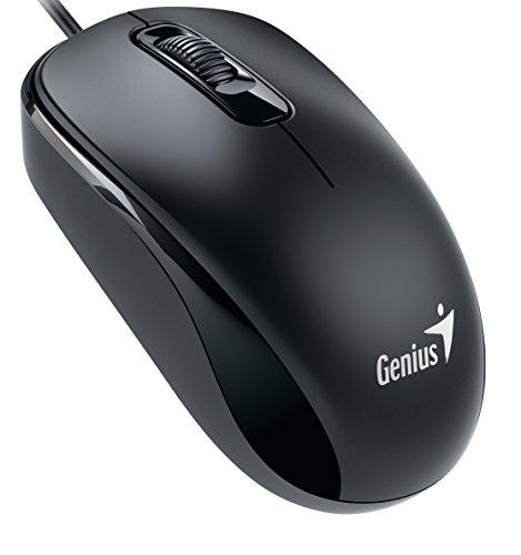 Genius Genius Wired Optical Mouse, Black (DX-110Black)