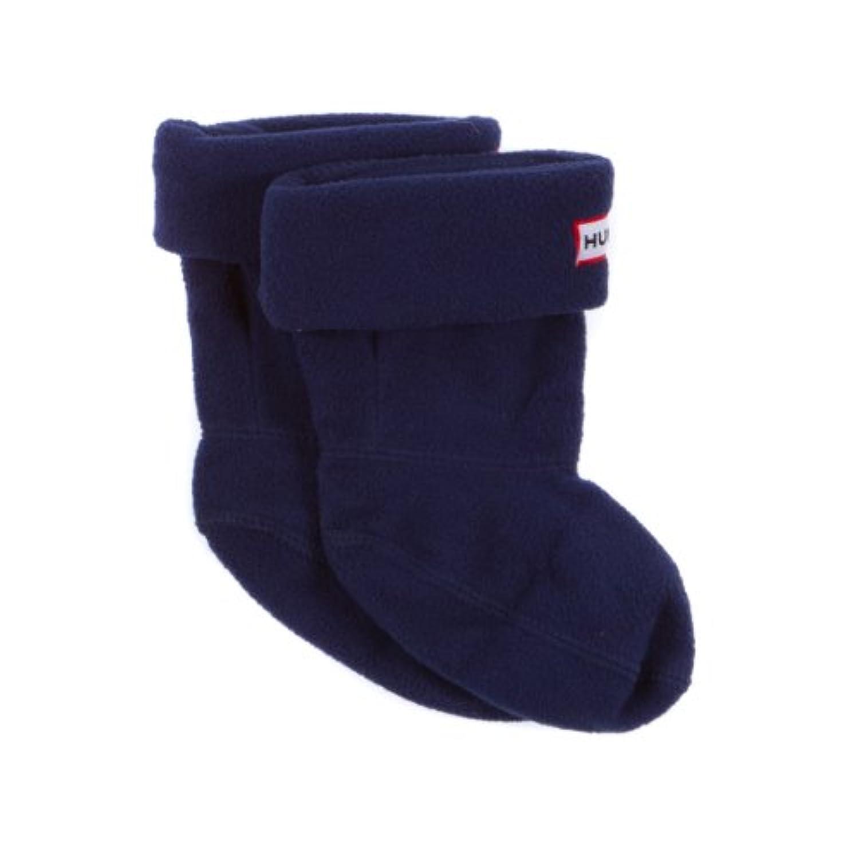 Hunter Kids Fleece Welly Socks Black S23659 X-Small