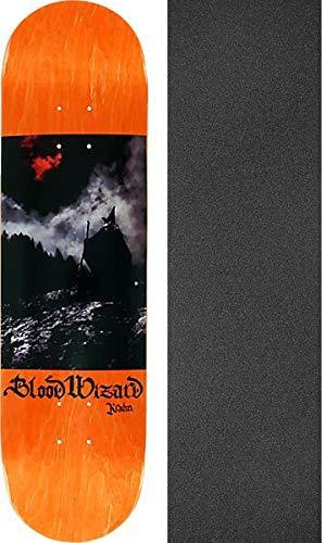 大宇宙報復シェアBlood WizardスケートボードBen Krahn Blood Moonスケートボードデッキ – 8.12インチx 31.75