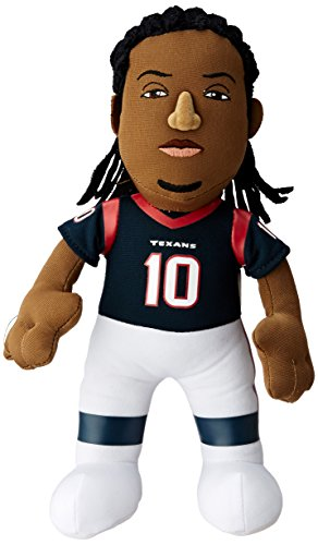 "NFL Houston Texans Deandre Hopkins Plush Doll, Blue, 10"""
